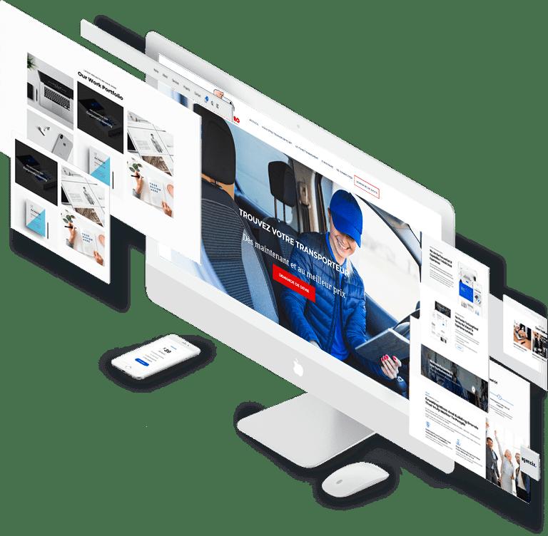 KARL-Concept, expertise web, présentation de sites web